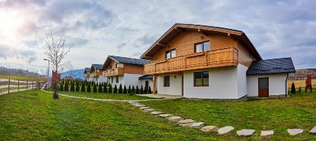 Vile confortabile, grupate intr-un resort din Bran, jud Brasov