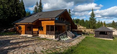 Cabana Mugure de Brad din Bucovina
