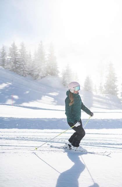 2 modele de schiuri pentru incepatori, de dama